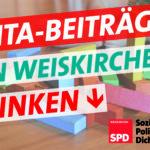 Kita Beiträge in Weiskirchen sinken